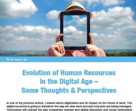 Evolution of Human Resources in the Digital Age