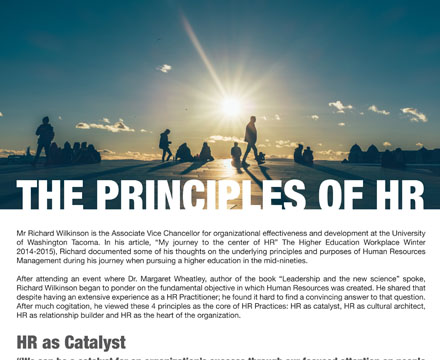 The Principles Of HR by Jaclyn Lee