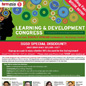 "Workshop Leader for ""Learning and Development Conference. ""Learning Analytics"""