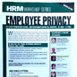 "Presentation on ""Employee Privacy"" – Key Media conference on ""Employee Privacy"""