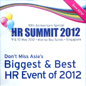 "Presentation on ""Compensation and Benefits Strategy 2012"" at the HR Summit"