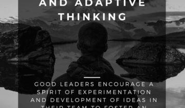 Harnessing Innovative &  Adaptive Thinking